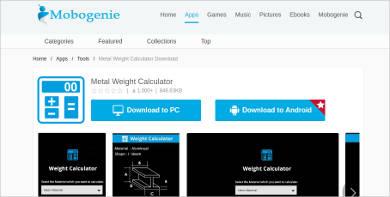 metal weight clculator most popular software