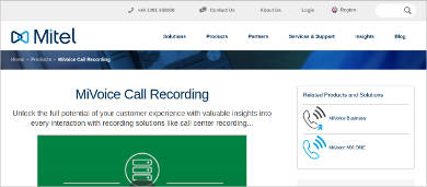 mivoice call recording