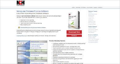 moneyline personal finance software for windows