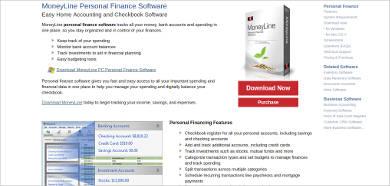 moneyline personal finance software for windows1