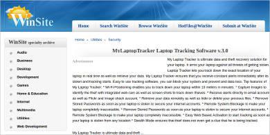 my laptop tracker