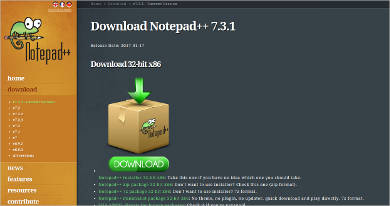 notepad most popular software