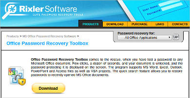 office password recovery toolbox