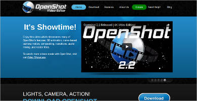 openshot video editor for mac