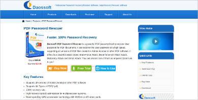 pdf password rescuer
