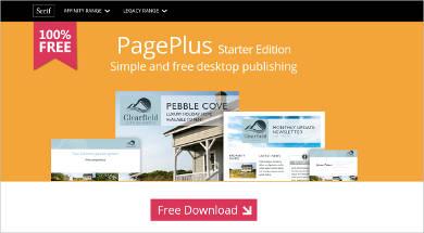 pageplus free desktop publishing
