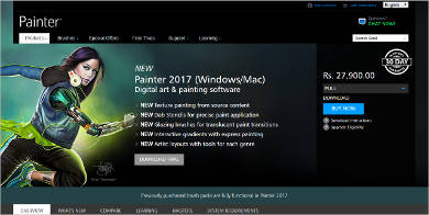 painter 2017 most popular software