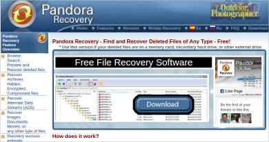 pandora recovery2