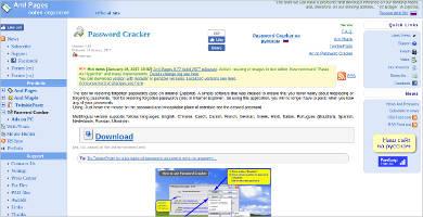password cracker most popular software