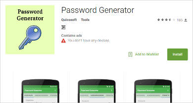 password generator for android