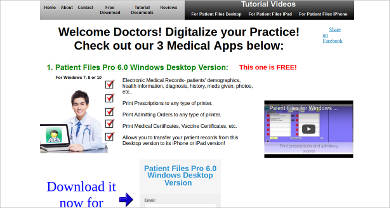 patient files pro 6