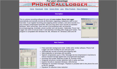 Phone Call Logger
