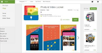 photo video locker