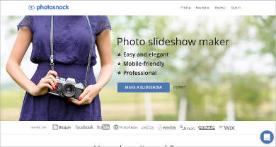 photosnack photo slideshow maker