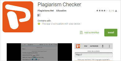 plagiarism checker for android
