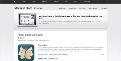 plastic surgery simulator for mac