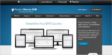 practice director ehr for windows