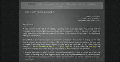 raw photo processor rpp for mac