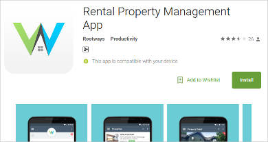 rental property management app for android