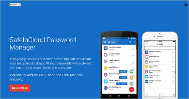 safeincloud password manager for windows