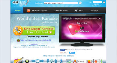 sing magic karaoke