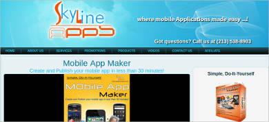 skyline mobile app maker