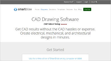 smartdraw cad drawing software