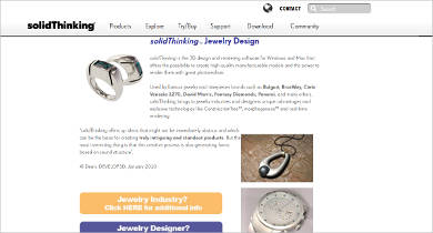 solidthinking jewelry design