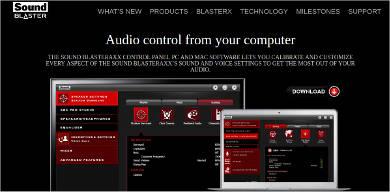 sound blaster for mac