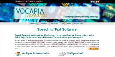 speech to text software