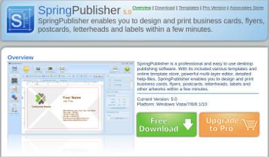 spring publisher