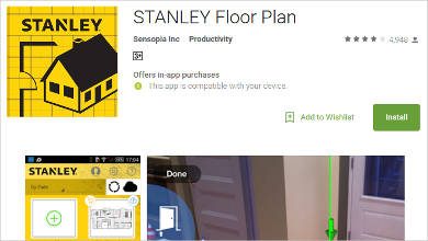 stanley floor plan for android