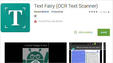 text fairy for android