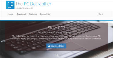 the pc decrapifier