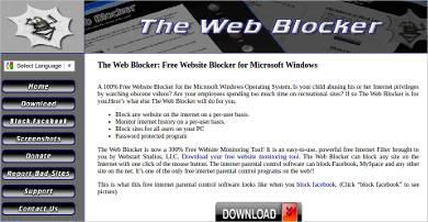 the web blocker most popular software