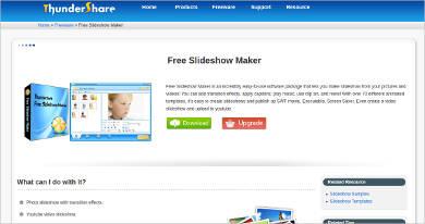 thundersoft free slideshow maker