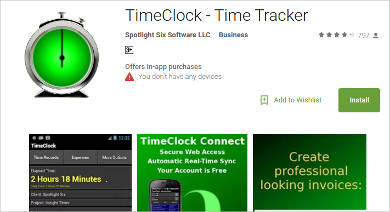 timeclock time tracker