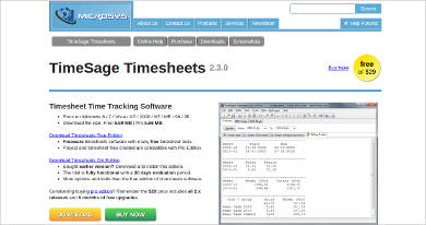timesage timesheets for mac