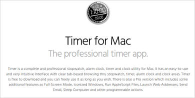 timer for mac1