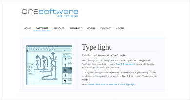 type light for windows