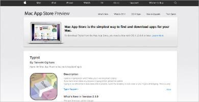 typist for mac
