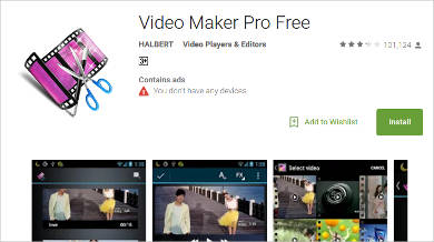 video maker pro free for android