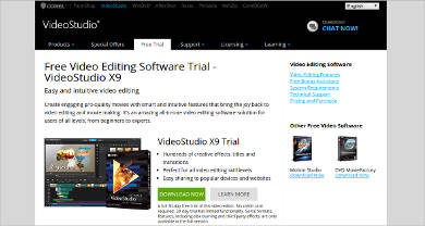 videostudio x9 most popular software