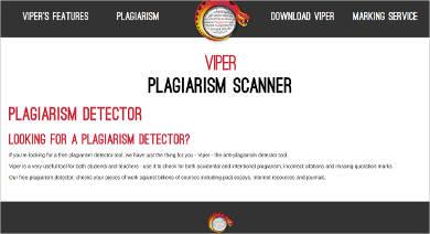 viper plagiarism scanner
