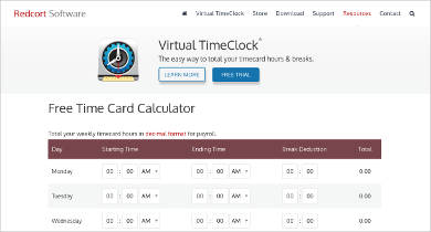 virtual timeclock basic