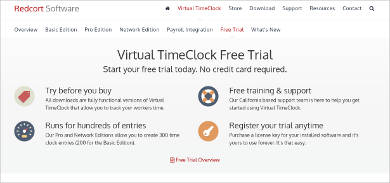virtual timeclock