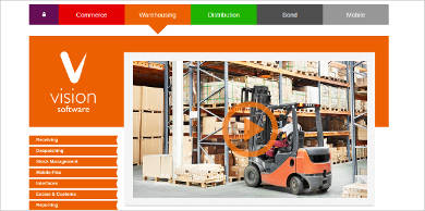 vision warehouse management software