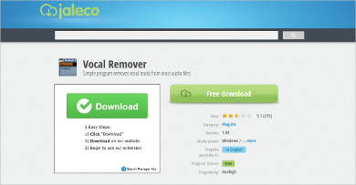 vocals remover for windows