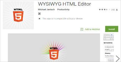 wysiwyg html editor