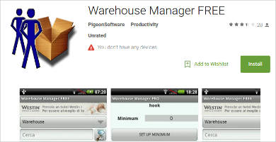 warehouse manager free